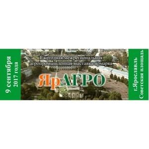 Традиционная VIII Межрегиональная агропромышленная выставка-ярмарка «ЯрАГгро» пройдет в Ярославле