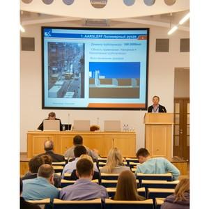 Per Aarsleff на семинаре Международного Центра Передовых Водных Технологий