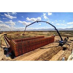 Крупнейший стекольный завод в России строится с использованием фанеры СВЕЗА