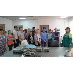 Завод LafargeHolcim в Ферзиково продолжает волонтерские инициативы для школьников