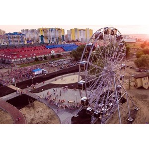 В Пензе открылось самое высокое колесо обозрения в области