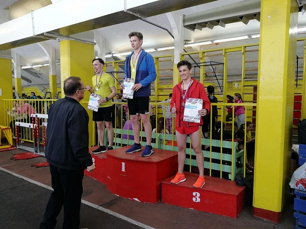 Студент Дзержинского филиала РАНХиГС стал призером кубка федерации  по легкой атлетике