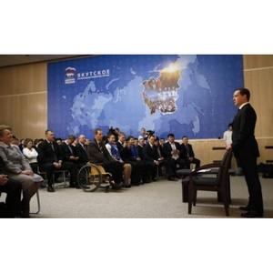 Члены Партии смогут выдвигать кандидатов в Герои труда - Медведев