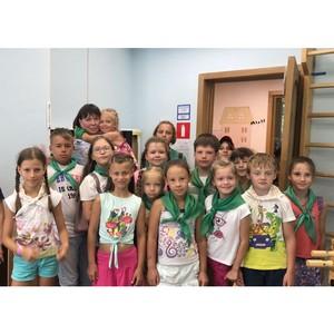 Сотрудники ОДН встретились с несовершеннолетними, отдыхающими в летнем лагере