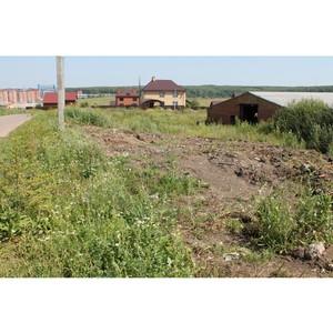 После обращения ОНФ ликвидирована несанкционированная свалка в Лямбирском районе Республики Мордовия
