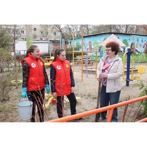 Команда «Молодежки ОНФ» в Амурской области присоединилась к акции «Аллея героев»