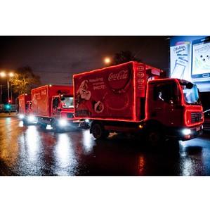 Сказочный «Рождественский Караван» Coca-Cola Hellenic в Нижнем Новгороде.