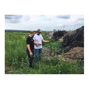 Белгородские активисты ОНФ обнаружили крупную свалку в Шебекинском районе