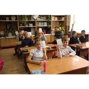—пециалисты расно¤рскэнергосбыта научили школьников беречь электроэнергию