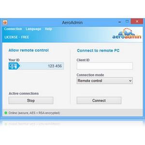 AeroAdmin выпускает бесплатную программу удаленного доступа