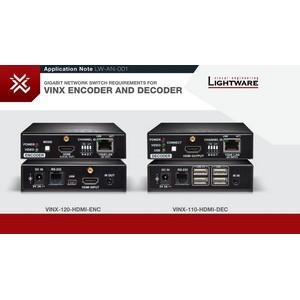 Lightware Vinx – новая серия IP KVM удлинителей с поддержкой 4K и мультикаст-вещания