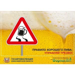 Комплексный социальный проект «Твой отдых – твоя ответственность!» стартовал в Новосибирске