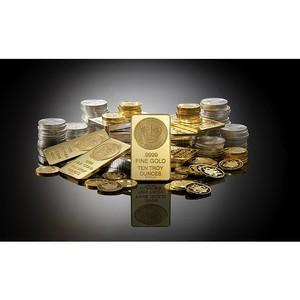 Прогноз: цены на золото вырастут на 30% в 2016 г.