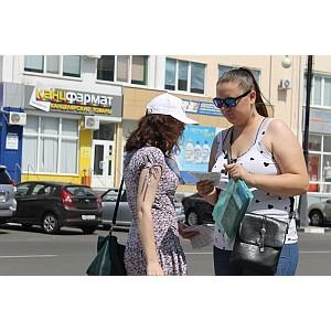 ОНФ в Белгородской области проводит работу по информированию граждан о проектах Народного фронта