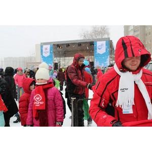 Ледовый городок – новогодний подарок жителям Инорса