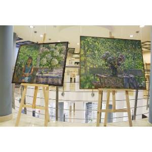 Картины Бориса Николаева — в офисе холдинга RBI