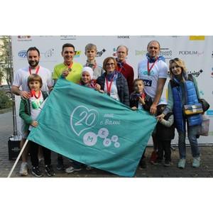 Команда Медси – первая в благотворительном забеге #ПатрикиБегут