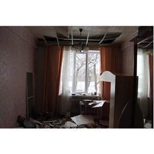 Активисты ОНФ повторно попросили мэрию Воронежа содействовать срочному расселению ветхого дома