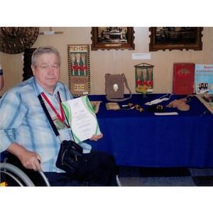 Пензенский народный умелец благодарен Вадиму Супикову за помощь
