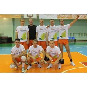 Команда «Липецкцемента» одержала победу в волейбольном турнире