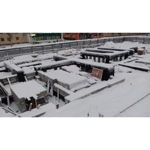 На стройплощадке ЖК «Атмосфера» в Северодвинске завершено погружение свай