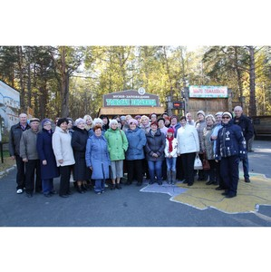 Пенсионеры ОАО «Кузбассэнергосбыт» посетили «Томскую писаницу»