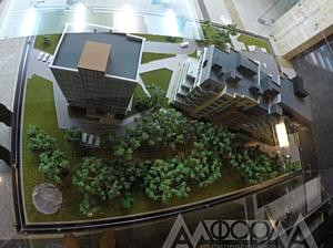 """Новый макет жилого комплекса """"Соколиная гора"""" близ Челябинска"""