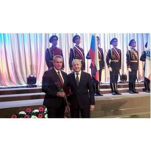 Генеральному директору «Россети Волга» Владимиру Рябикину вручена государственная награда