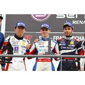 Пилот SMP Racing Матевос Исаакян завоевал свой первый подиум в Eurocup Formula Renault 2.0