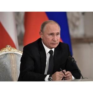 Путин поручил обеспечить детализацию нацпроектов с учетом предложений каждого субъекта РФ
