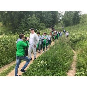 јктивисты ќЌ' встали на защиту заказника Ђрылатские холмыї с целью сохранени¤ зеленого по¤са ћосквы
