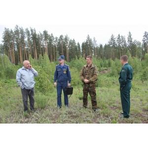 ОНФ и МЧС взяли на контроль пожароопасную ситуацию в селе Акутиха Алтайского края