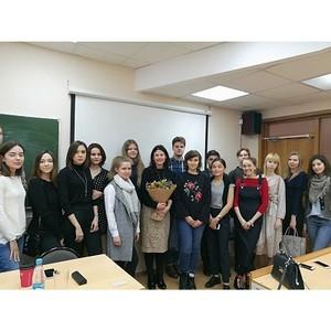 Заместитель генерального директора «Михайлов и Партнёры» Эллен Пинчук выступила в PR Club МГИМО