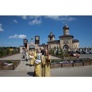 В «Гармонии» на Ставрополье освятили уникальную часовню Христа Спасителя и будущий Дом милосердия