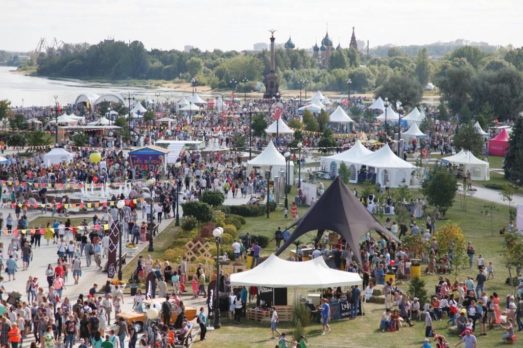 3000 человек поcетили площадку Пивзавода «Ярпиво» во время фестиваля «Пир на Волге»