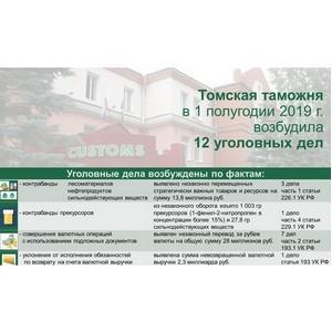 Томская таможня: об итогах правоохранительной деятельности
