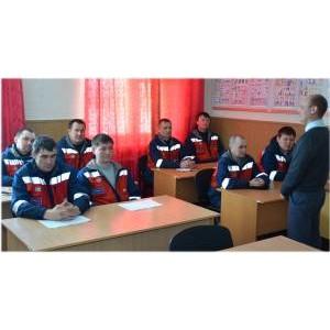В филиале «Мариэнерго» проверили уровень подготовки персонала к безопасному производству работ