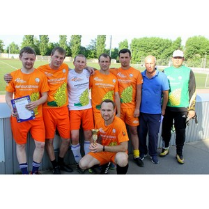 Команда «Липецкцемента» завоевала бронзу в соревнованиях по мини-футболу