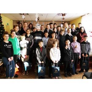 Коллектив холдинга «Даймонд» поздравил с Новым годом детей-сирот