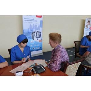 Врачи проверили состояние здоровья петербуржцев