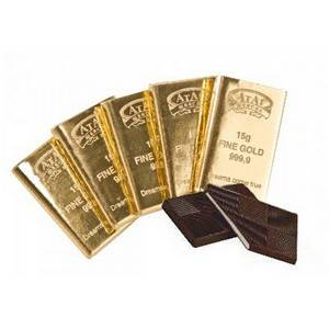 "Chocolates ""Pure gold"""