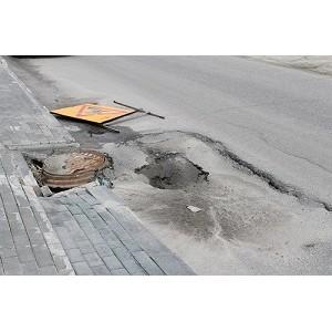 ОНФ в Югре проинспектировал состояние дорог в Ханты-Мансийске