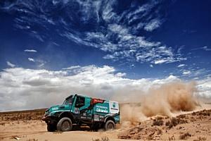 «Дакар-2016»: команда Iveco улучшила результаты на седьмом этапе