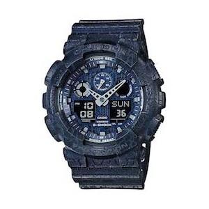 Cracked Pattern G-Shock - новая серия мужских часов Casio