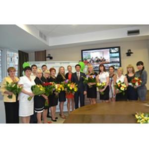Лучшие сотрудники награждены знаком «Отличник Сбербанка»