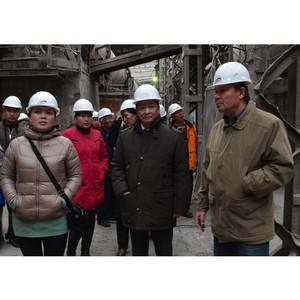 Тимлюйский цементный завод посетили специалисты из Монголии