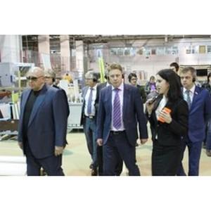 Компанию «Мария» посетил заместитель министра промышленности РФ
