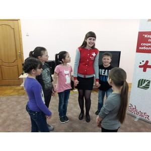 «Молодежка ОНФ» и волонтеры-медики Мордовии провели акцию для детей социального приюта