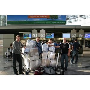«Олтри» помогает: первый груз уже нашел своего адресата в Крымске