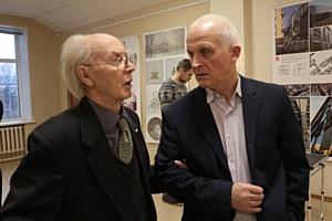 В Архангельске открылась выставка известного российского архитектора Михаила Мамошина